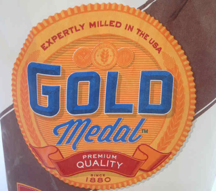 General Mills Gold Medal Flour - Open Bag