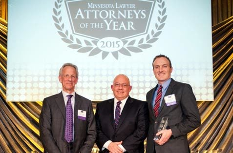 Attorneys of the Year Fred Pritzker and Eric Hageman