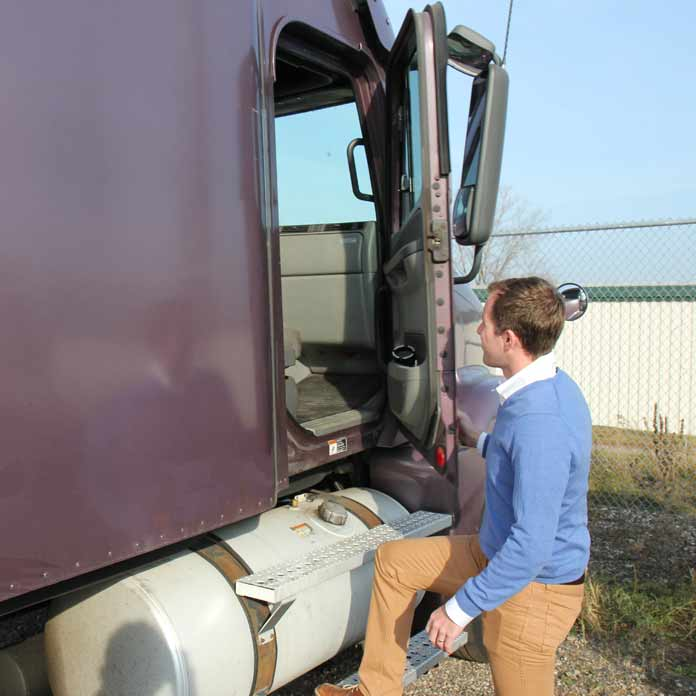 Truck Crash Inspection