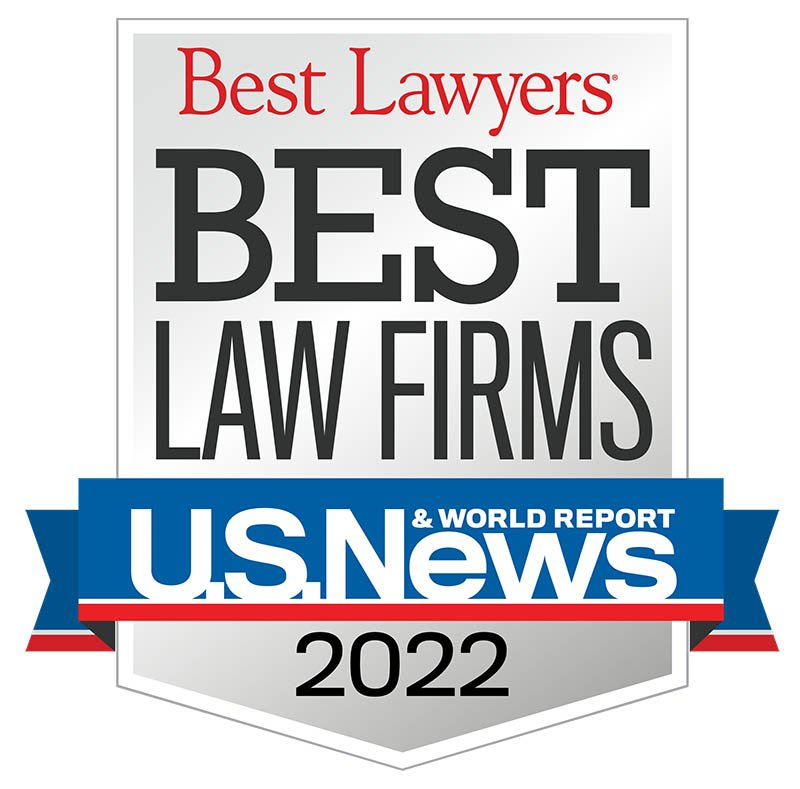 Best Law Firms 2021 Award