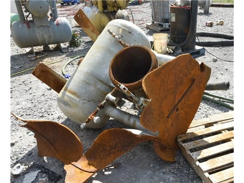 Midland Resources Recovery storage tank after explosion