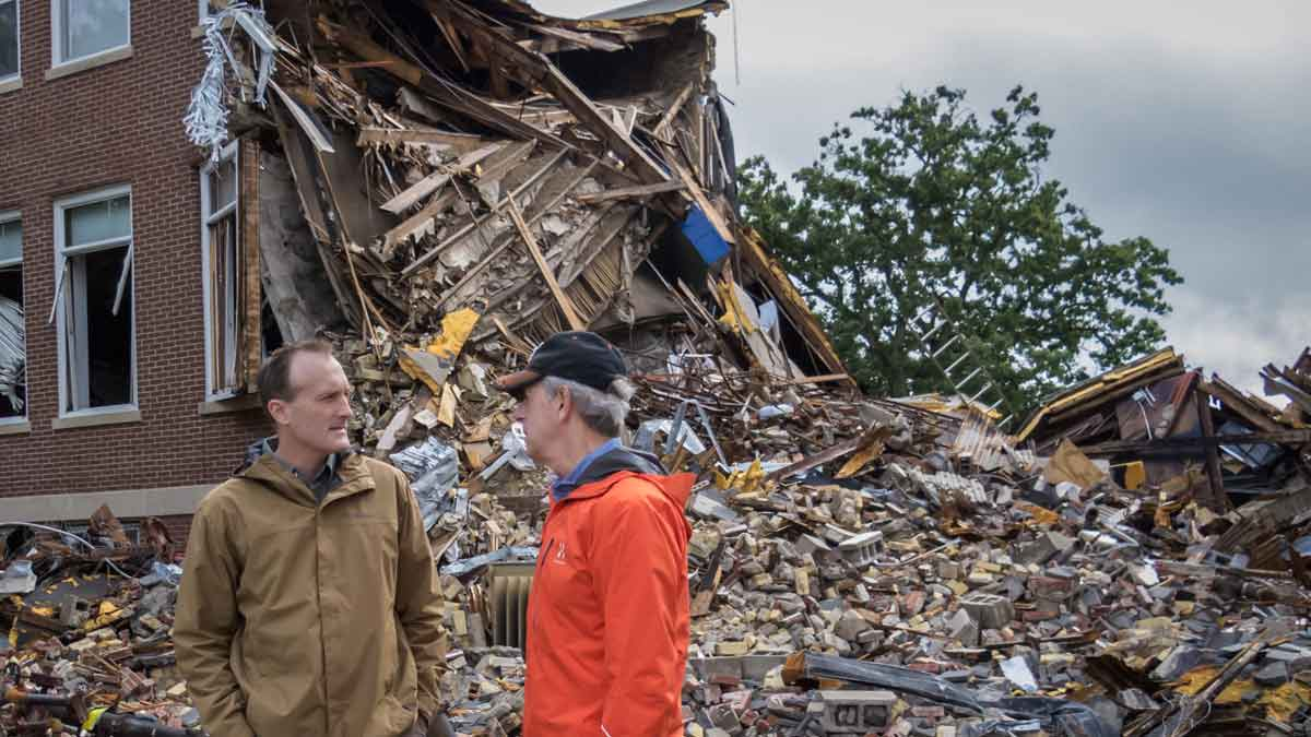 Explosion Lawyers Eric Hageman and Fred Pritzker