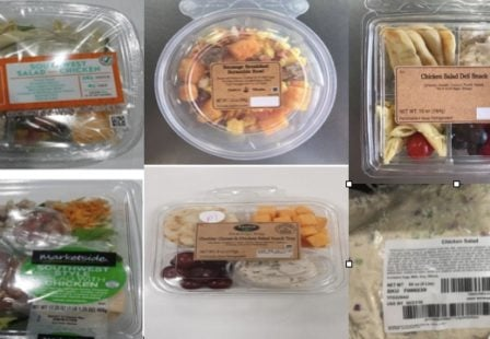 Taylor Farms products included in onion Salmonella recall