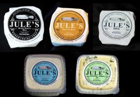 Jule's Cashew Brie Salmonella Recall